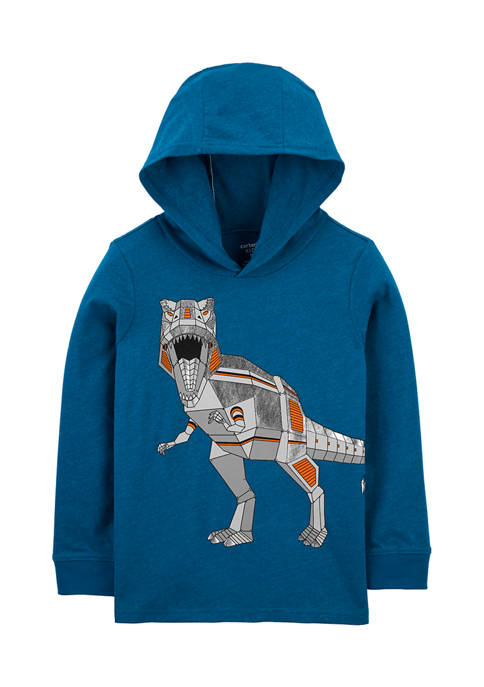 Carter's® Boys 4-7 Dinosaur Hooded Jersey T-Shirt
