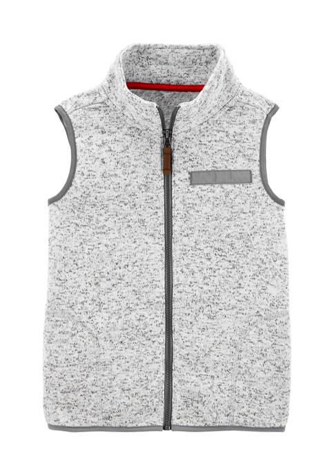 Carter's® Boys 4-7 Zip Up Sherpa Vest