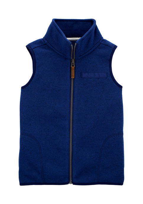 Carter's® Boys 4-7 Zip Up Sherpa Vest