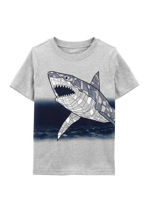 Carter's® Boys 4-7 Grey Shark T-Shirt