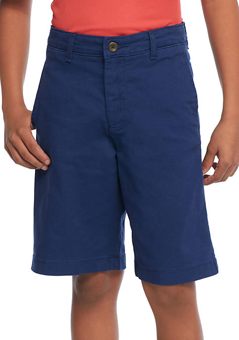Crown & Ivy™ Boys 8-20 Husky Flex Waist