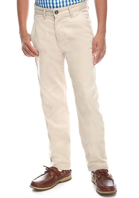 Crown & Ivy™ Stretch Twill Pants Boys 8-20