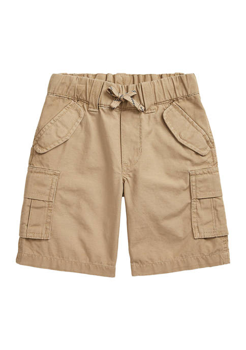 Boys 4-7 Cotton Ripstop Cargo Shorts