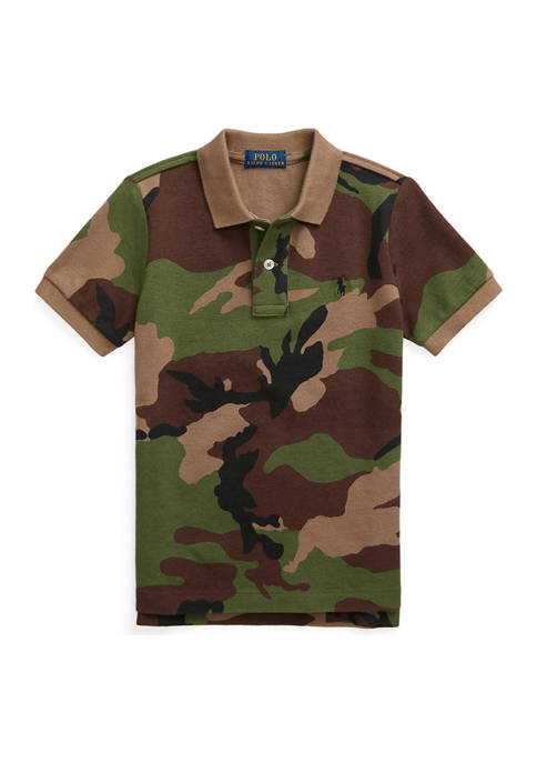 Ralph Lauren Childrenswear Boys 4-7 Camouflage Cotton Mesh