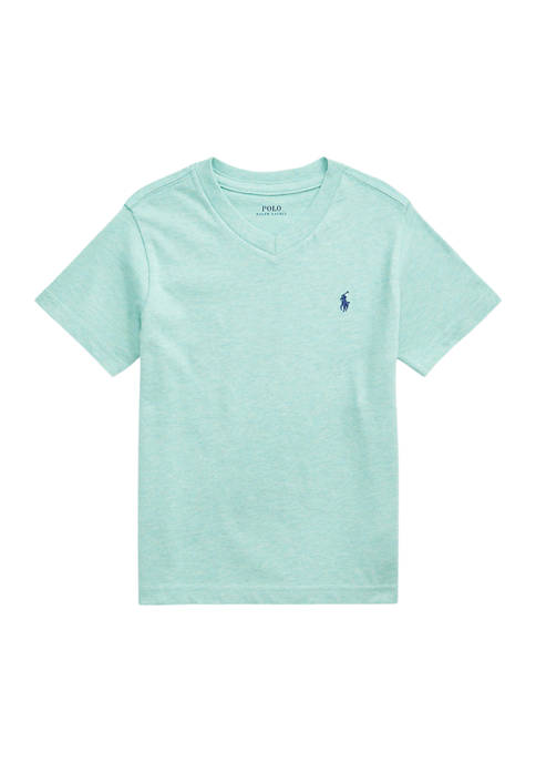 Ralph Lauren Childrenswear Boys 4-7 Cotton Jersey V-Neck