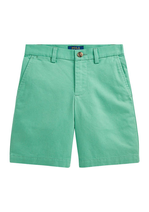 Boys 4-7 Straight Fit Stretch Chino Shorts