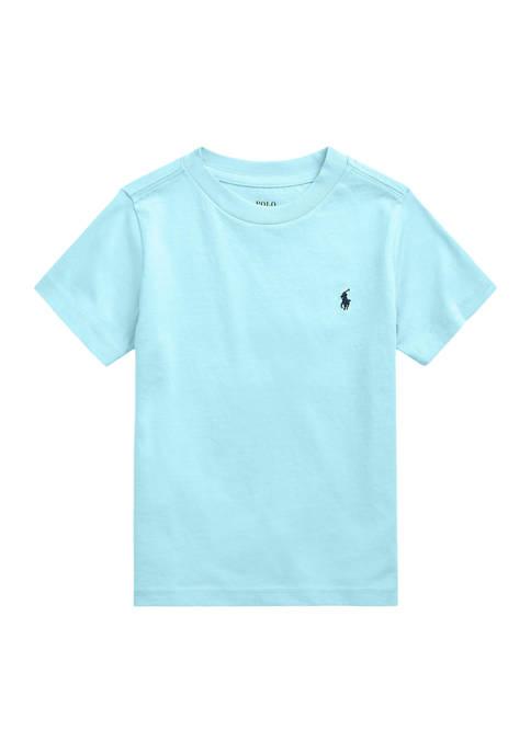 Ralph Lauren Childrenswear Boys 4-7 Cotton Jersey Crew