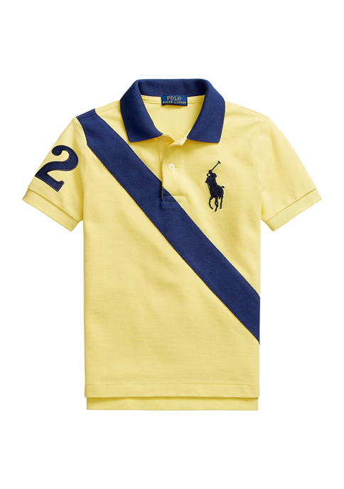 Ralph Lauren Childrenswear Boys 4-7 Big Pony Cotton