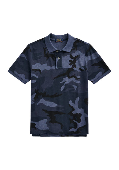 Ralph Lauren Childrenswear Boys 8-20 Camouflage Cotton Mesh