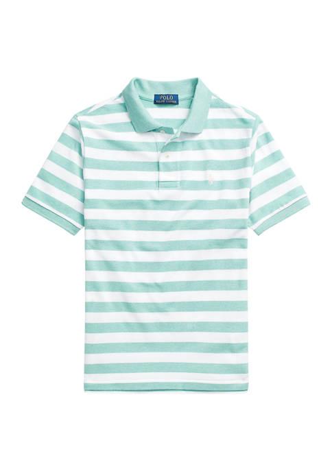 Ralph Lauren Childrenswear Boys 8-20 Striped Cotton Mesh