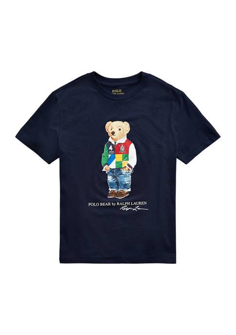 Boys 8-20 Polo Bear Cotton Jersey Tee