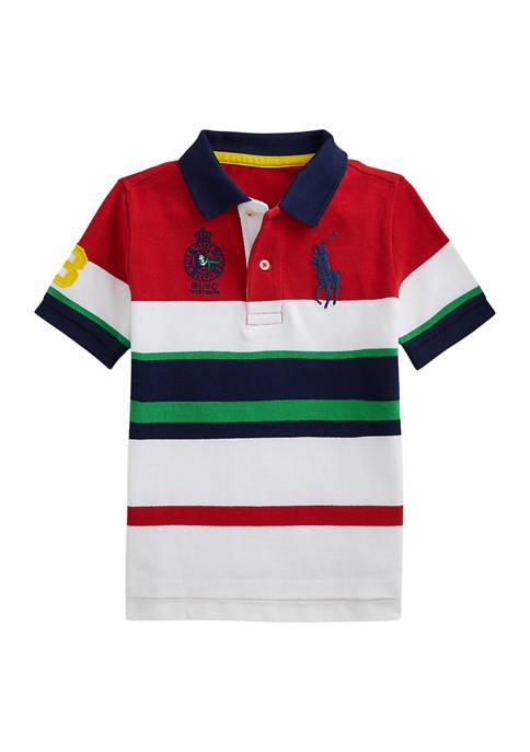 Ralph Lauren Childrenswear Boys 4-7 Big Pony Striped
