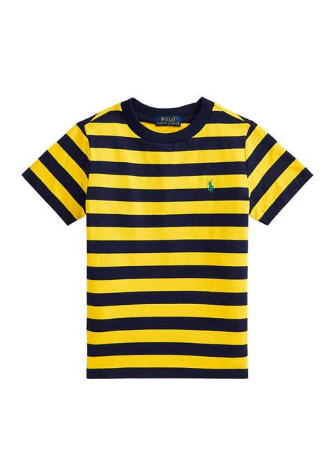 Boys 4-7 Striped Cotton Jersey T-Shirt