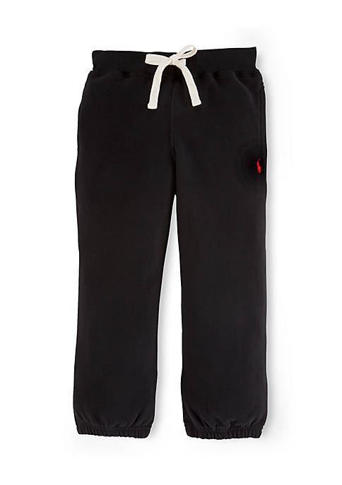 Boys 4-7 Cotton Blend Fleece Pants