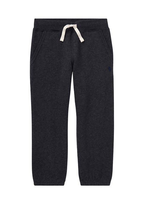Ralph Lauren Childrenswear Boys 4-7 Cotton-Blend-Fleece Pants