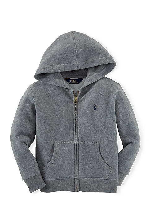 Ralph Lauren Childrenswear Long Sleeve Full-Zip Hoodie Boys