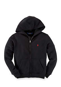 Long Sleeve Full-Zip Hoodie Boys 4-7