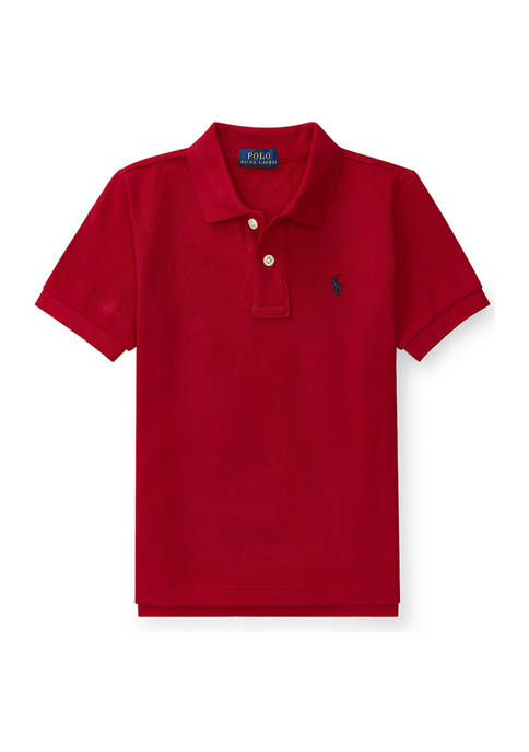 Ralph Lauren Childrenswear Boys 4-7 Cotton Mesh Polo