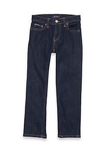 Ralph Lauren Childrenswear Boys 4-7 Dark Wash Slim Fit Jeans