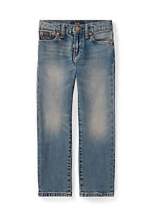 Ralph Lauren Childrenswear Boys 4-7 Hampton Straight Stretch Jeans
