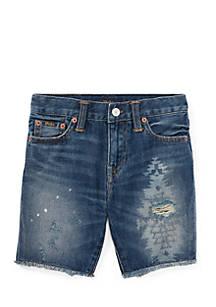 3817ef7d3 Ralph Lauren Childrenswear. Ralph Lauren Childrenswear Boys 4-7 Slouch Slim  Fit Denim Shorts