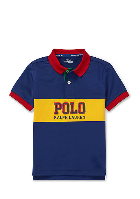 Ralph Lauren Childrenswear Boys 4-7 Performance Lisle Polo