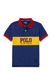 Boys 4-7 Performance Lisle Polo Shirt