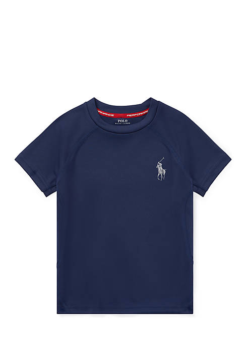 Ralph Lauren Childrenswear Boys 4-7 Performance Crewneck T-Shirt
