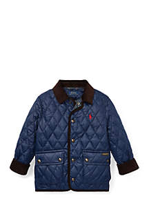 Boys 4-7 Quilted Car Coat