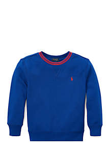 Boys 4-7 Cotton-Blend Fleece Sweatshirt