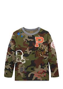 Boys 4-7 Camo Cotton Graphic T-Shirt