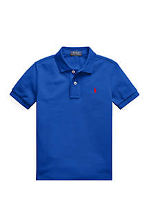 Ralph Lauren Childrenswear Boys 4-7 Cotton Mesh Polo Shirt