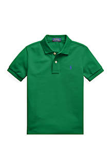 Ralph Lauren Childrenswear Toddler Boys Cotton Mesh Polo Shirt