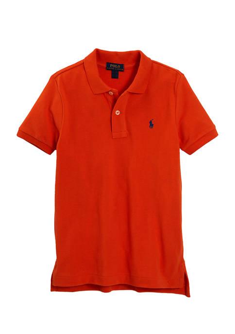 Ralph Lauren Childrenswear Boys 4-7 Cotton Mesh Polo