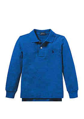 715e32ae Ralph Lauren Childrenswear Cotton Mesh Polo Shirt ...