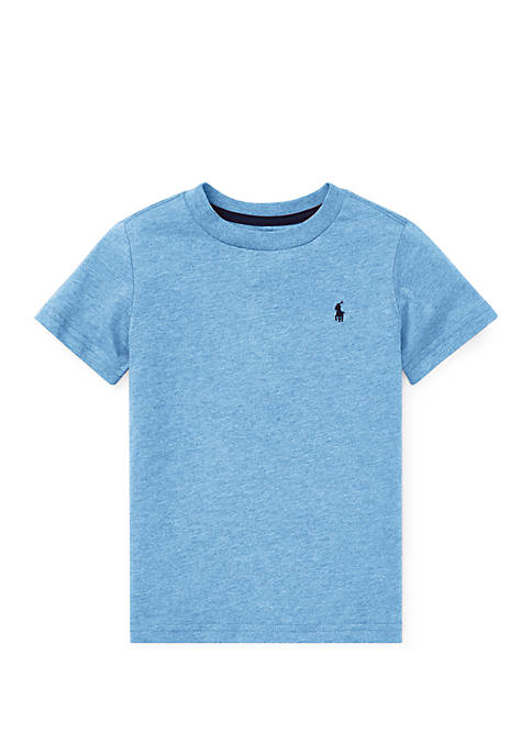 Boys 4-7 Cotton Jersey Crewneck T-Shirt