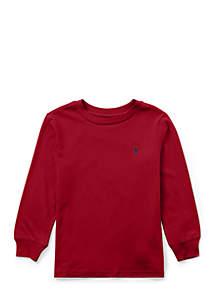 Boys 4-7 Cotton Long-Sleeve T-Shirt