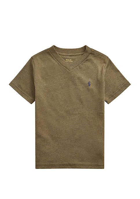 Ralph Lauren Childrenswear Boys 4-7 Cotton Jersey V-Neck