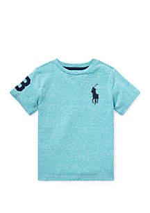 Boys 4-7 Cotton Jersey Crew Neck T-Shirt