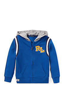 Boys 4-7 Cotton French Terry Hoodie