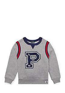 Boys 4-7 Cotton French Terry Sweatshirt