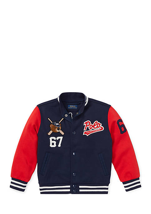 Ralph Lauren Childrenswear Boys 4-7 Polo Bear Baseball