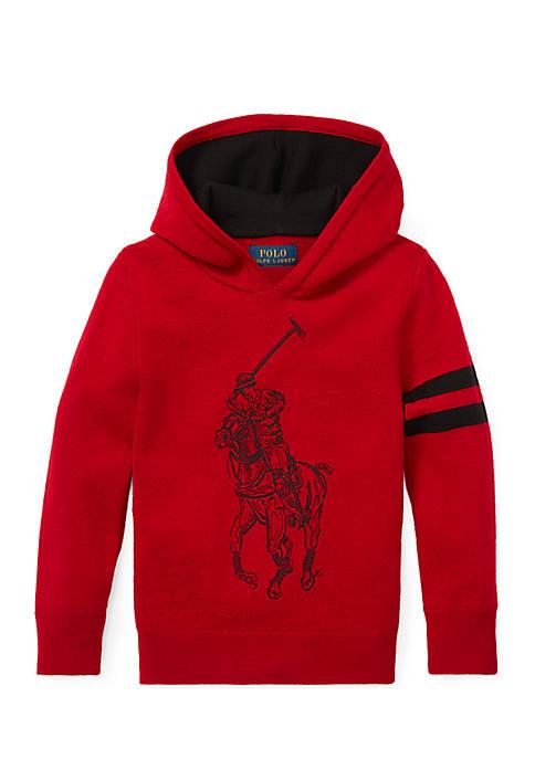Ralph Lauren Childrenswear Boys 4-7 Big Pony Merino