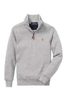 Boys 4-7 Cotton Half-Zip Pullover