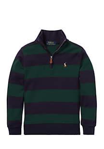 Boys 4-7 Striped Cotton Pullover