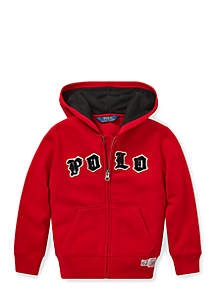 Boys 4-7 Cotton Blend Fleece Hoodie