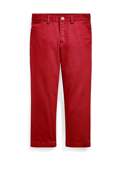 Ralph Lauren Childrenswear Boys 4-7 Slim Fit Cotton