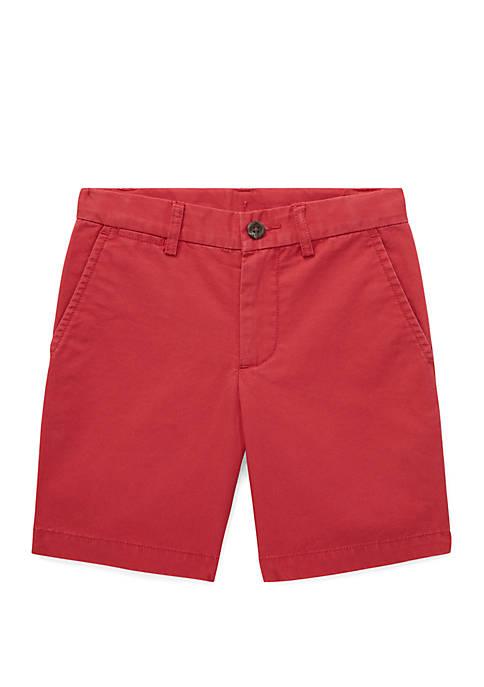 Boys 4-7 Cotton Chino Shorts