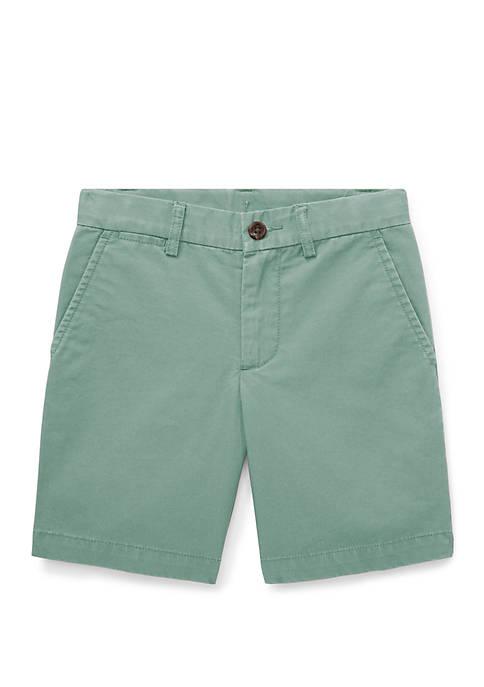 Ralph Lauren Childrenswear Boys 4-7 Cotton Chino Shorts