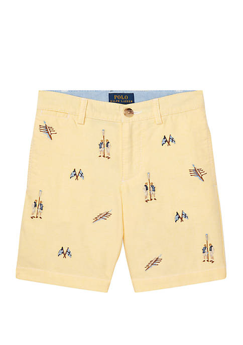 Ralph Lauren Childrenswear Boys 4-7 Slim Fit Cotton